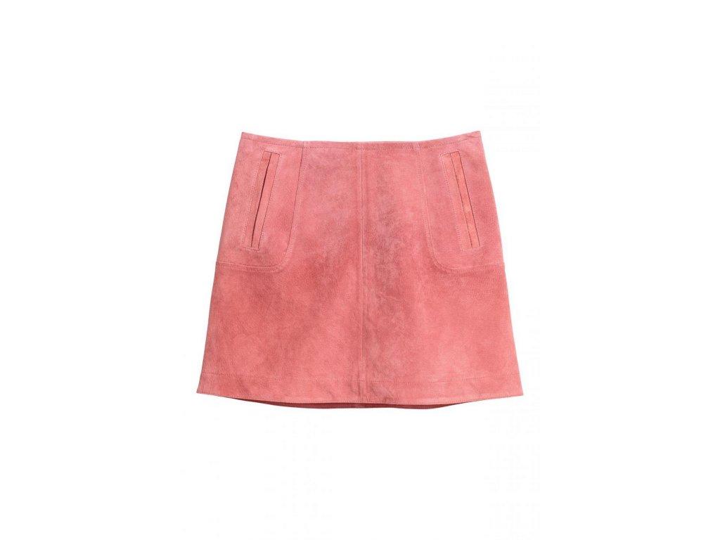 womens short suede skirt vintage pink hm pink skirts