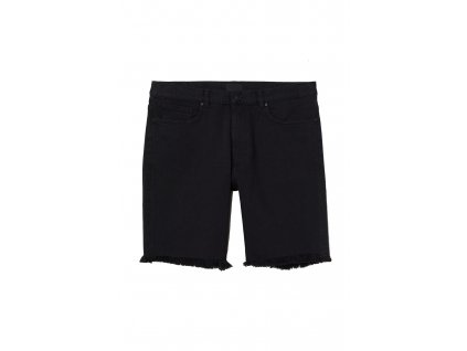 mens slim denim shorts black hm black shorts upravit