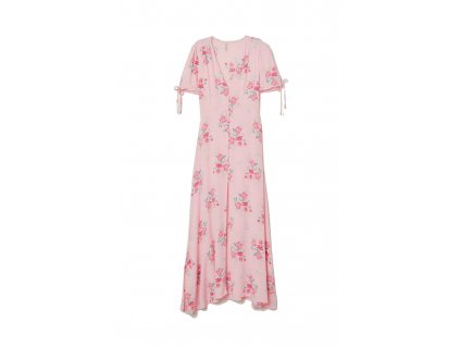 womens dress with buttons light pinkfloral hm pink dresses 3 upravit