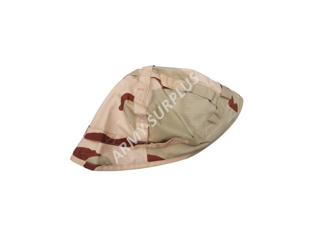 Potah (povlak,obal,převlek) na kovovou helmu 3 color desert 2. jakost