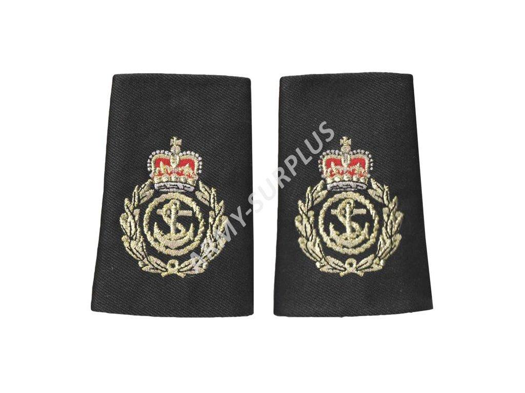 Hodnost nárameníky Velká Británie Chief petty officer (hlavní lodní poddůstojník) 1pár