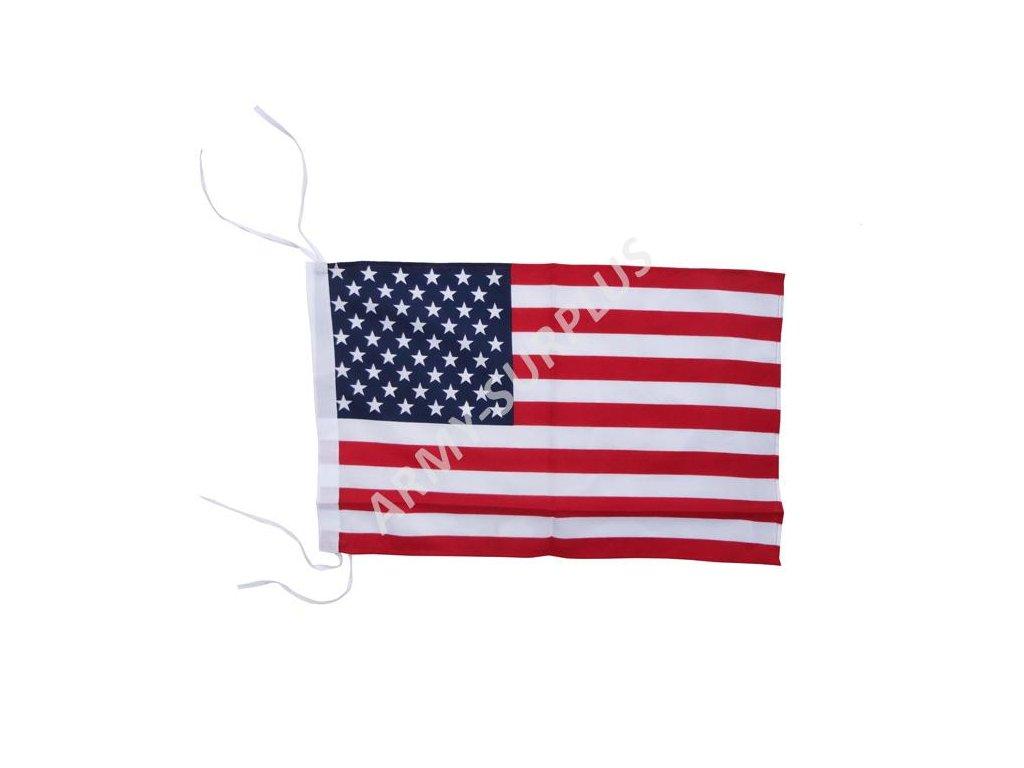 Vlajka USA 30x45 cm na uvázání
