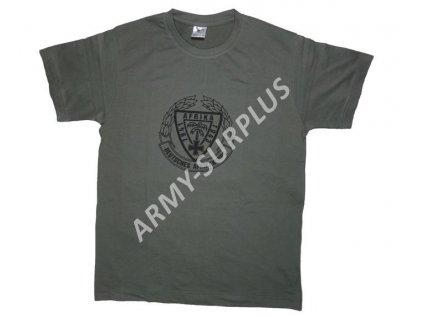 Triko potisk Afrikakorps šedé (polní šeď)