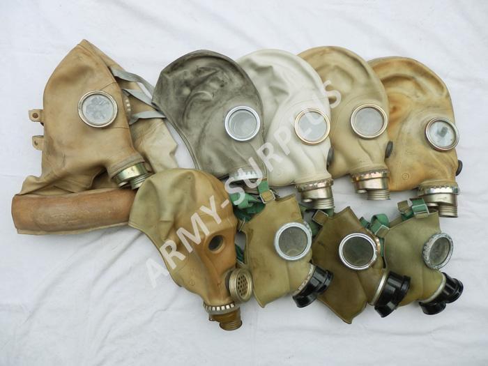 ARMÁDNÍ ORIGINÁL Plynová maska Postapo nebo na náhradní díly Typ masky: CM4