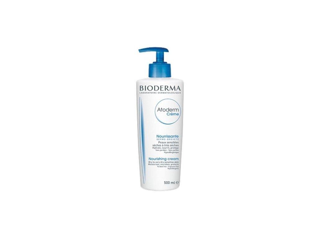 Bioderma Hydratační tělový krém pro suchou pokožku Atoderm Creme 500 ml