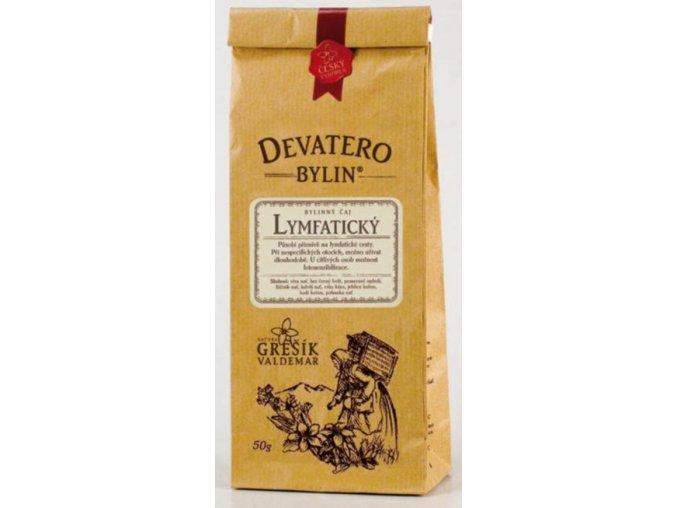 Grešík Lymfatický čaj sypaný 50 g Devatero bylin