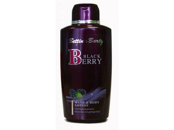 Bettina Barty tělové mléko Black Berry 500ml