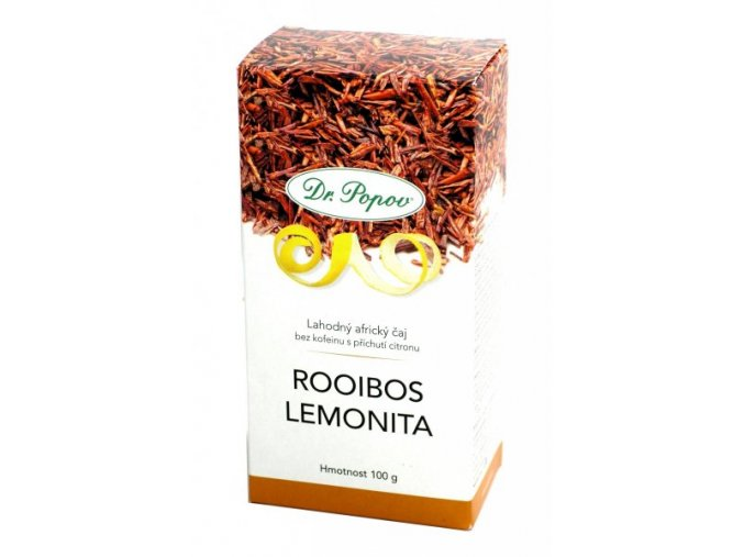 Dr. Popov Čaj Rooibos Lemonita sypaný 100 g