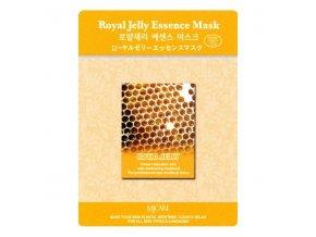 MJ Care - MATEŘÍ KAŠIČKA - luxusní látková pleťová maska pro všechny typy pleti, zejména pro dehydratovanou a stárnoucí pleť  23 g