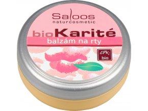 Saloos Bio Karité balzám - Na rty 19 ml