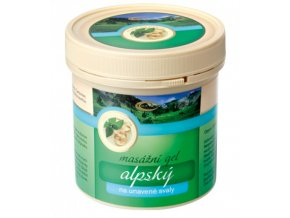 Topvet Alpský masážní gel na unavené svaly 250 ml