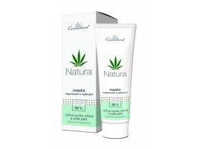Cannaderm Bio Maska regenerační a vyživujicí Natura 75 g