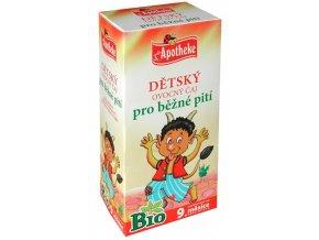 Apotheke Bio Dětský ovocný čaj pro běžné pití 20x2g