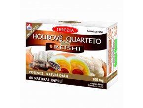 Terezia Company Houbové Quarteto s reishi 60 kapslí