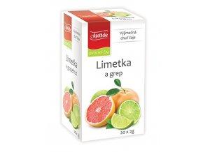 Apotheke Limetka a grep čaj 20x2g
