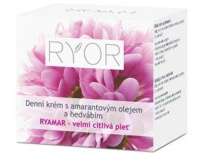 Ryor Denní krém s amarantovým olejem a hedvábím Ryamar 50 ml