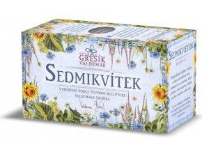 Grešík Sedmikvítek bylinný čaj n.s. 20x1g
