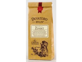 Grešík Ženský čaj sypaný 50 g Devatero bylin