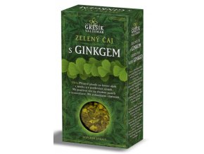 Grešík Zelený čaj s ginkgo sypaný 70 g