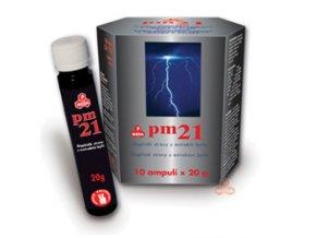 Purus Meda PM 21 - pitné ampule 10x20 g