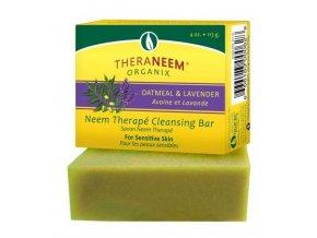 Organix South Nimbové mýdlo s ovsem a levandulový olejem Thera Neem 113 g