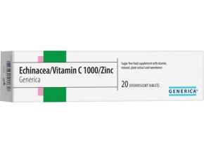Generica Echinacea/Vitamin C 1000/Zinc eff.tbl.20