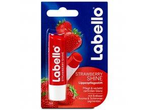 tonovaci balzam na rty strawberry shine caring lip balm 4 8 g