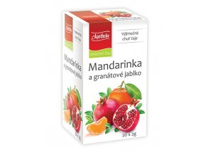 Apotheke Mandarinka a granátové jablko 20x2g