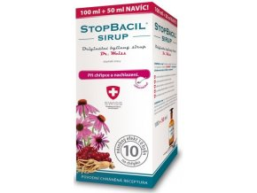 StopBacil sirup Dr. Weiss 100 ml + 50 ml ZDARMA