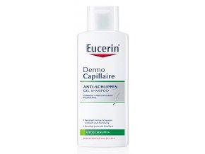 Eucerin Gelový šampon proti mastným lupům DermoCapillaire 250 ml