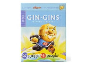 Ginger People GIN GINS Super zvlášť silné zázvorové bonbony 31 g