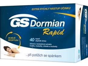 GreenSwan GS Dormian Rapid 40 kapslí