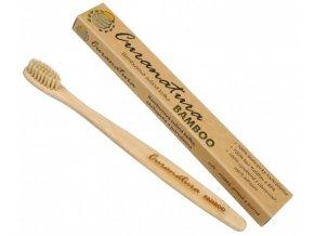 Curanatura Zubní kartáček Bamboo (extra soft ) - zelená volba 1 ks