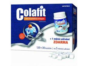 Apotex Colafit (čistý kolagen) 120 kostiček + 30 kostiček ZDARMA