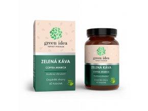 Topvet Zelená káva bylinný extrakt 60 tob.