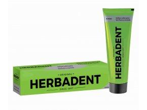 Herbadent Homeo bylinná zubní pasta s ženšenem bez fluoru a mentholu 100 g