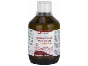 Pharma Activ Koloidní železo + vitamín C liquid 300 ml