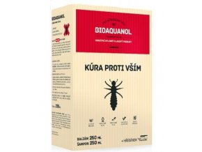 Silvita Bioaquanol kúra proti vším - Šampon 250 ml + Balzám 250 ml + hřeben
