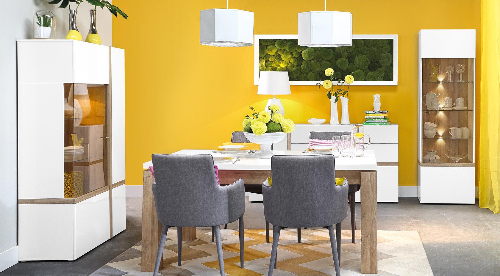 Jedálenský nábytok do malého bytu – takto sa vám zmestí a nebude stáť v ceste