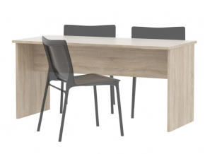 Obojstranný písací stôl JOHAN 08 / dub sonoma