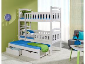 Detská poschodová posteľ Dominik III a
