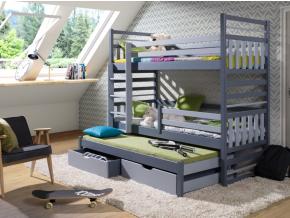 Detská poschodová posteľ Hipolit 1