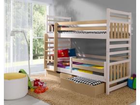 Detská poschodová posteľ Miromir