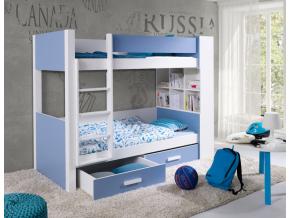 Detská poschodová posteľ Gaspar