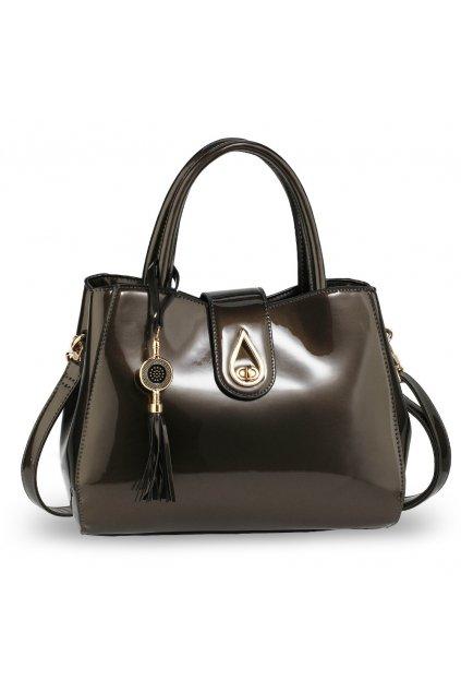 Trendy kabelka do ruky Lilliana sivá AG00650