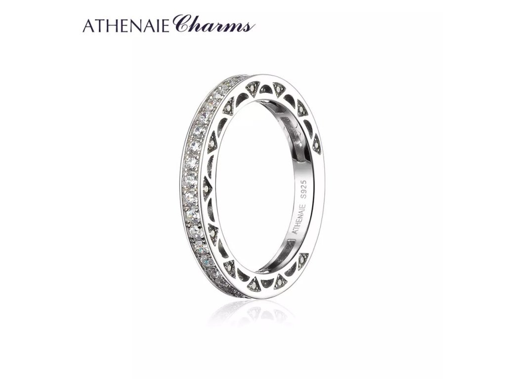 Athenaie prsten Třpytivá věčnost R01
