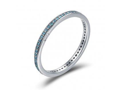 Royal Fashion prsten Modrá elegance SCR229