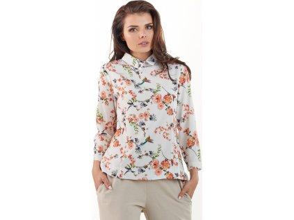 awama dámská košile MM-117540 béžová