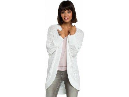 BE Knit svetr na zapínání MM-121204 béžová