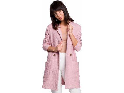 BE kabát MM-128269 růžová